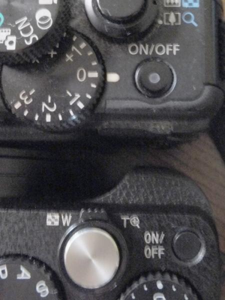 HX60VとG15電源ボタン