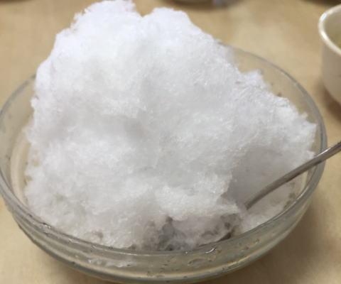 かん袋かき氷