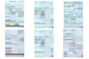 ガンダムデカールDX 01~06【再販】t1