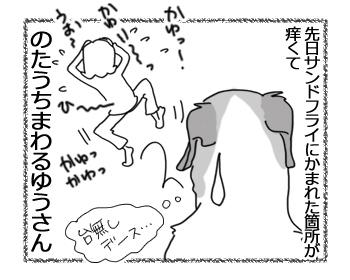 羊の国のラブラドール絵日記シニア!!「幻想的な朝に」4