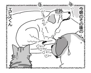 羊の国のラブラドール絵日記シニア!!「男子(ダンスィー)のリハビリ」5