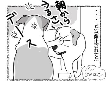 羊の国のラブラドール絵日記シニア!!「朝ポリス」4