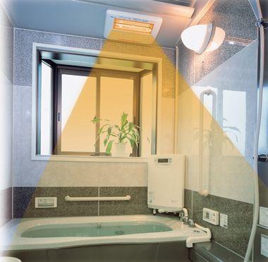 浴室の寒さ対策