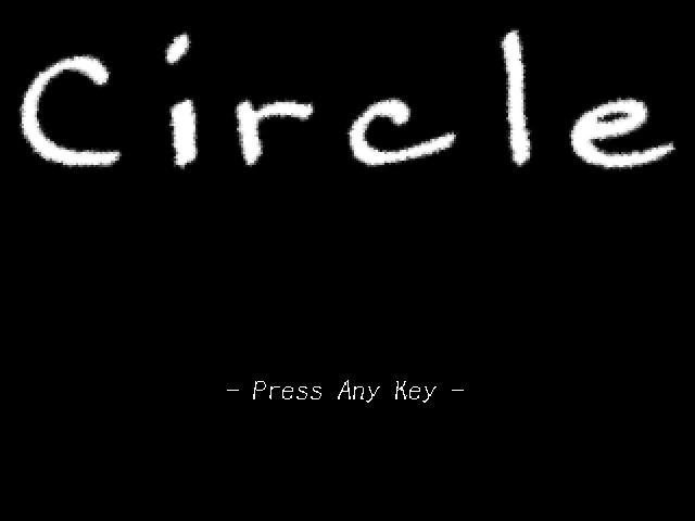 circle タイトル画面 スクショ
