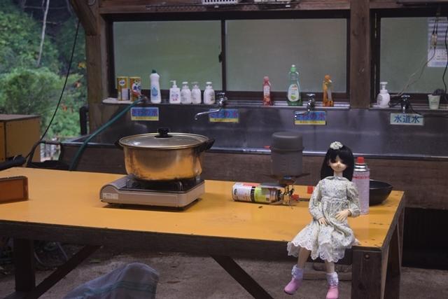 08夕飯作る