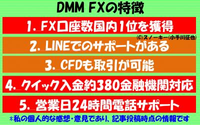 DMM FXの評判と特徴2016