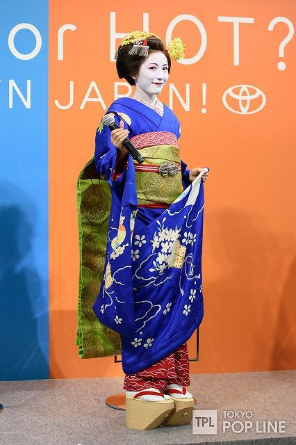 「 CROWN JAPAN FESTA 」ゴールで待っていた豊川悦治と【まゆゆ】
