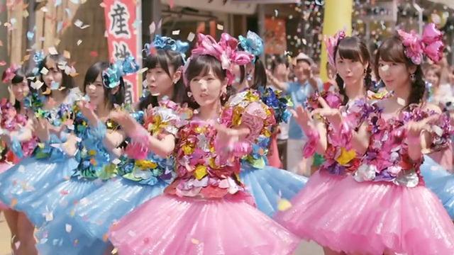 舞妓【まゆゆ】が心のプラカードを踊ってる!