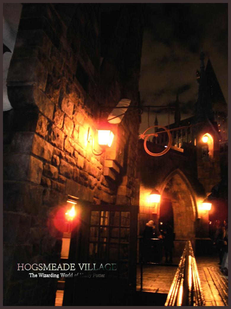 ホグズミード村 Hogsmeade village USJ ハリポタ