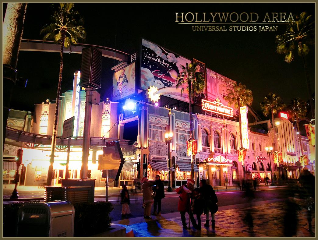 Hollywood Area ハリウッド・ドリーム ハリウッドエリア USJ ユニバーサルスタジオジャパン
