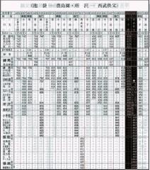 平日・臨時『西武秩父行』延長列車