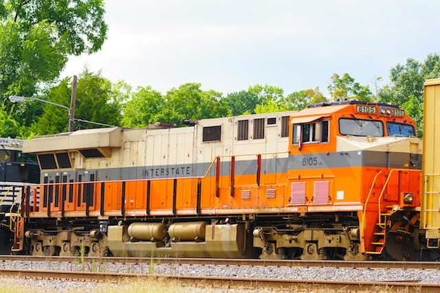 Sep1116 NS8108 Interstate Trailing Irondale1