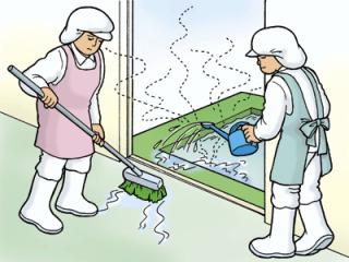 トイレ掃除塩素注意!