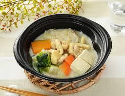 ローソン 鶏肉のごま豆乳鍋