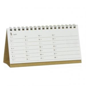 ステッチ卓上カレンダー