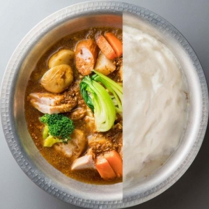 もこもこ鍋ポトフ(スパイシーカレースープ)