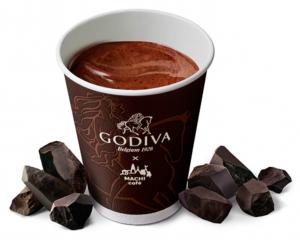 MACHI cafe×GODIVA ホットチョコレート