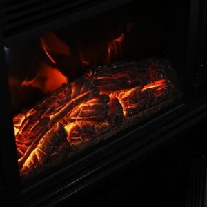 ヒロ・コーポレーション ミニ電気式暖炉ヒーター