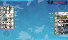 第二次マレー沖海戦 E-1 BOSS (2016年8月13日)
