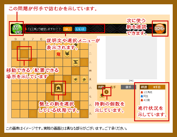 ib-game 詰将棋ゲーム ルール