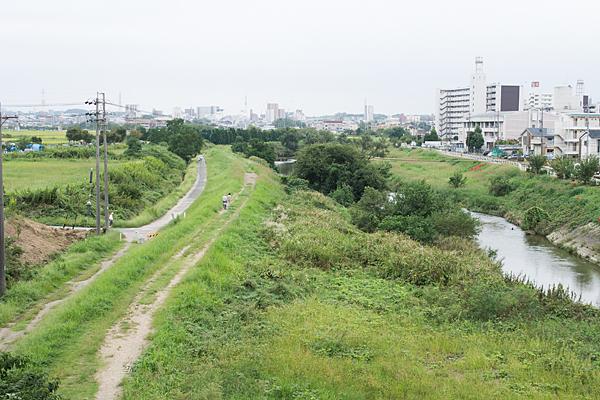 天白川風景