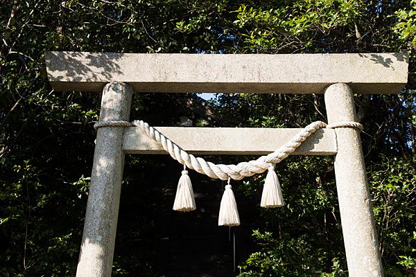 富士社二の鳥居