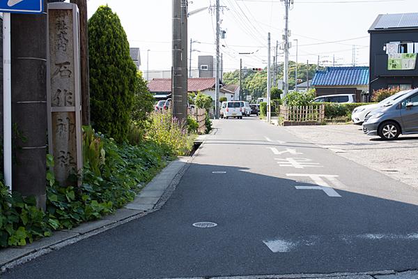 石作神社参道