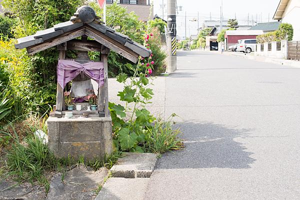 篠木町の下街道