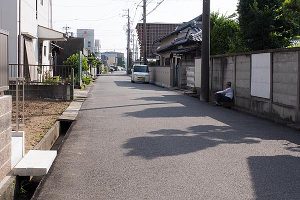 下街道の風景
