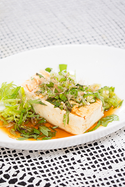 木綿豆腐の湯豆腐