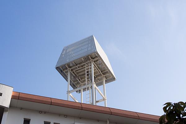 住宅の配水塔