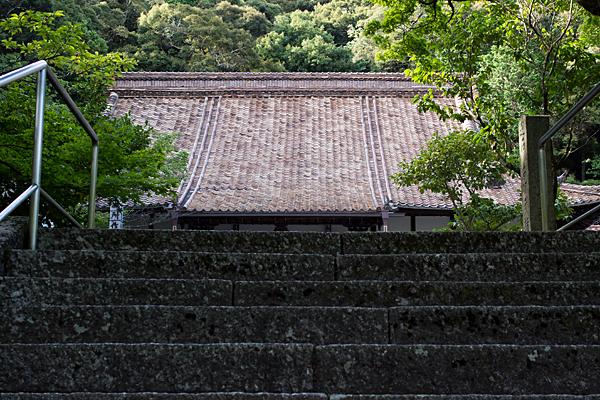 赤津焼の瓦屋根