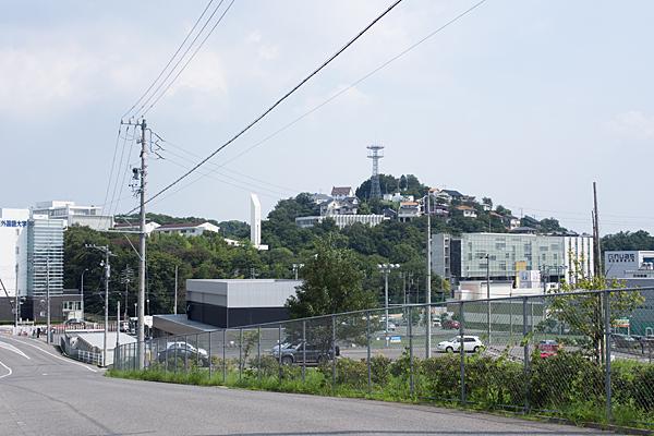 名古屋外国語大学近辺