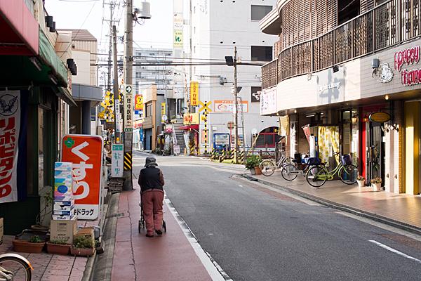 瀬戸電駅前風景