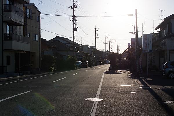 旧東海道の街並み