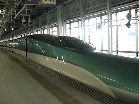 新幹線加工後