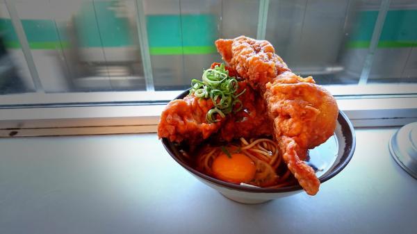 【画像】JR常磐線我孫子駅の立ち食いそばがヤバ過ぎる