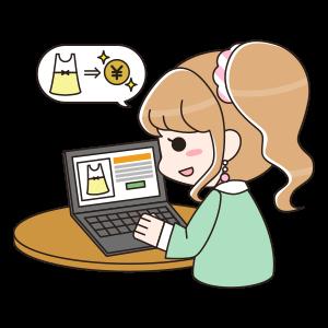 パソコン ショッピング 女性