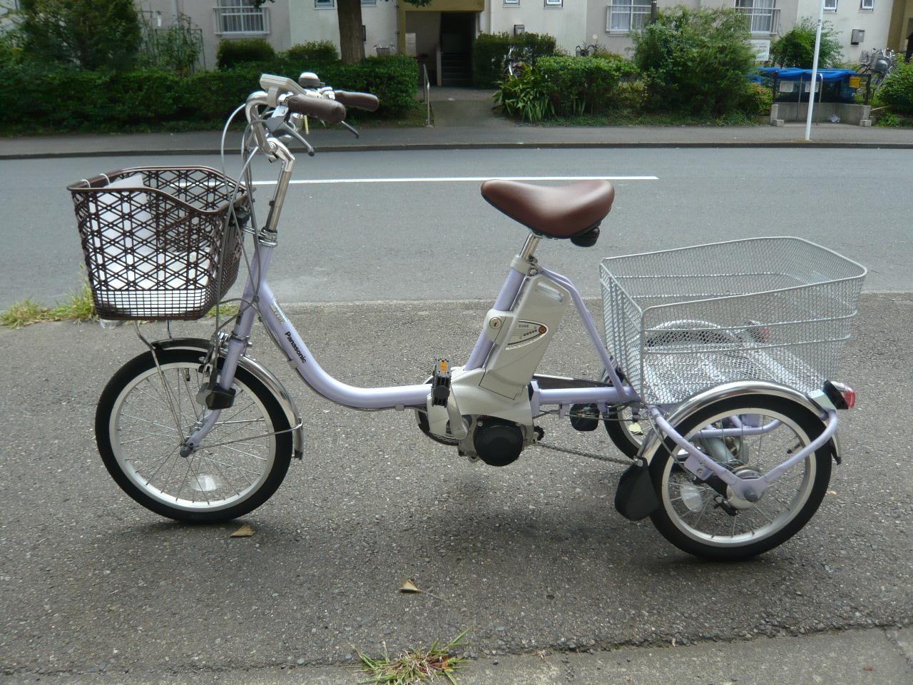 パナ三輪車