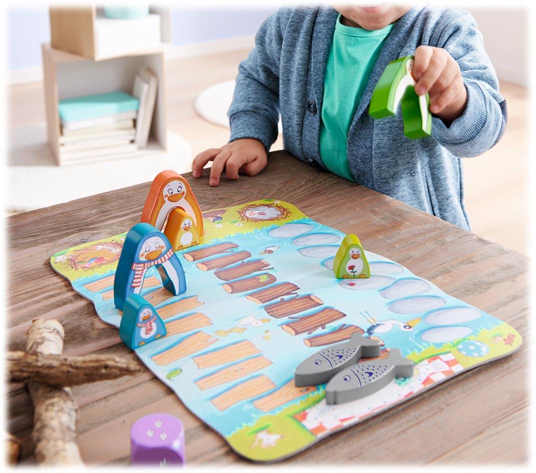 マイファーストゲーム・それゆけ!赤ちゃんペンギン:展示用写真
