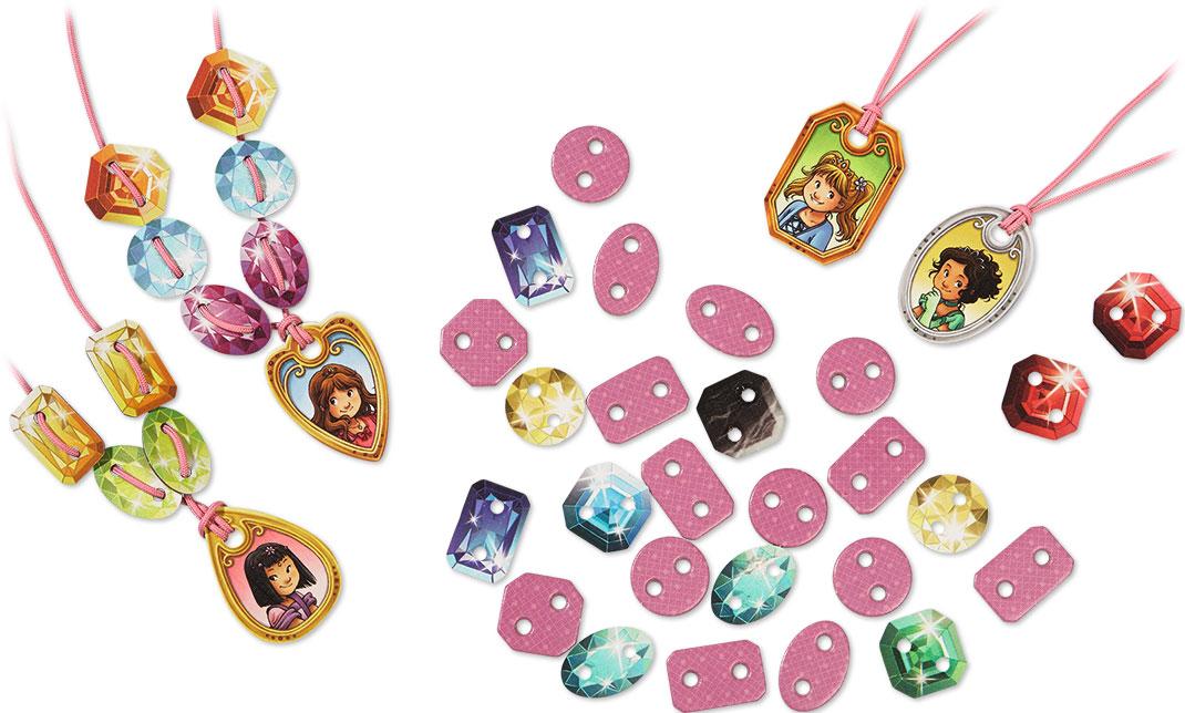 プリンセス・ミーナのキラキラ首飾り:展示用写真