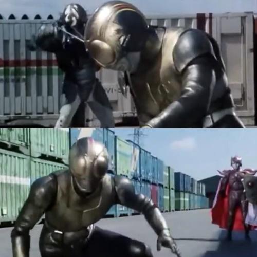 ヒーロー 仮面ライダーブラック やられ ピンチ 5