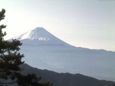 20181021富士山方面のライブカメラ画像