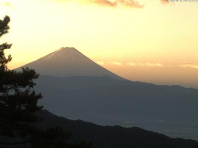 20181030 富士山方面のライブカメラ画像