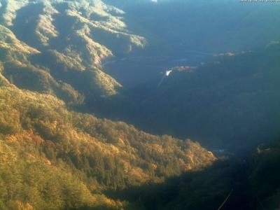 20181030 荒川ダム方面のライブカメラ画像