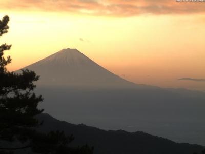 20181116 富士山方面のライブカメラ画像
