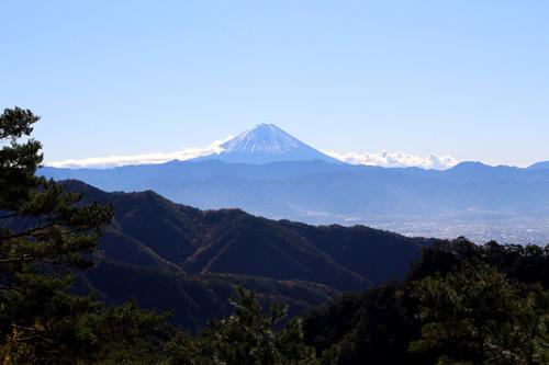 20181123昇仙峡ロープウェイ山頂からの眺め (2)