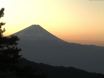 20181130富士山方面のライブカメラ画像