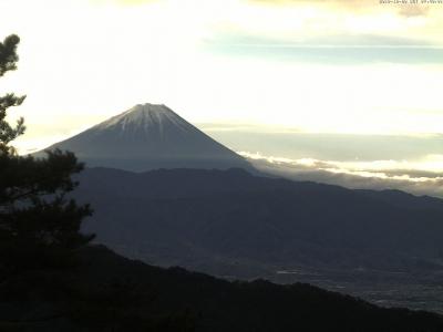 富士山方面のライブカメラ画像
