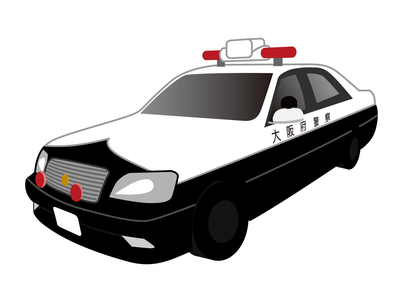 パトカーの色は、何故白と黒?